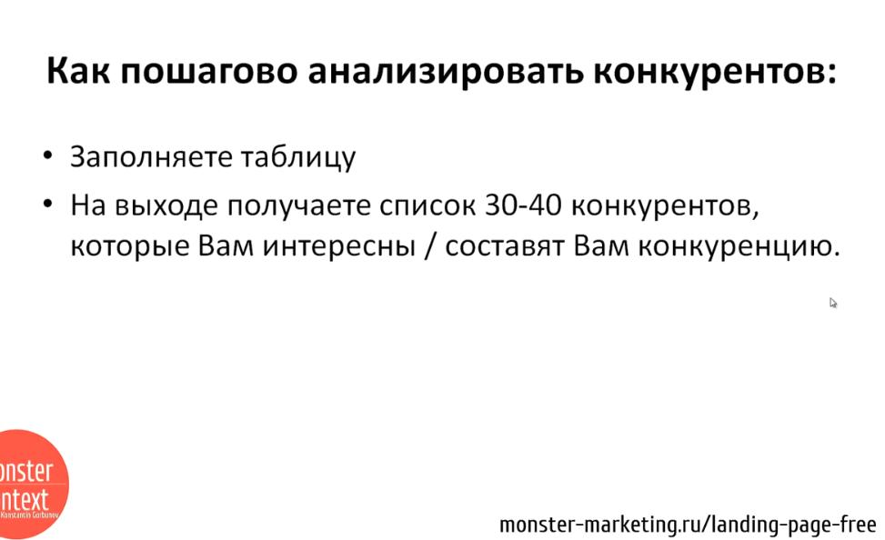 Анализ Рынка и конкурентов для landing page - Как пошагово анализировать конкурентов-3