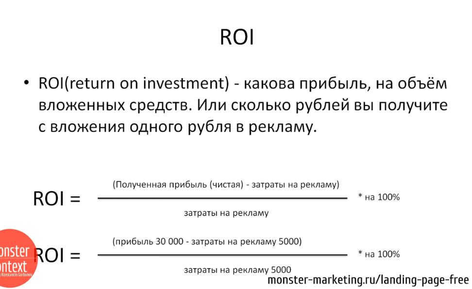 Анализ Рынка и конкурентов для landing page - ROI
