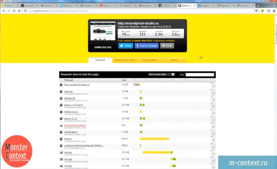 Как создать Landing page урок 7. Проверяем Верстку - Результаты проверки сайта
