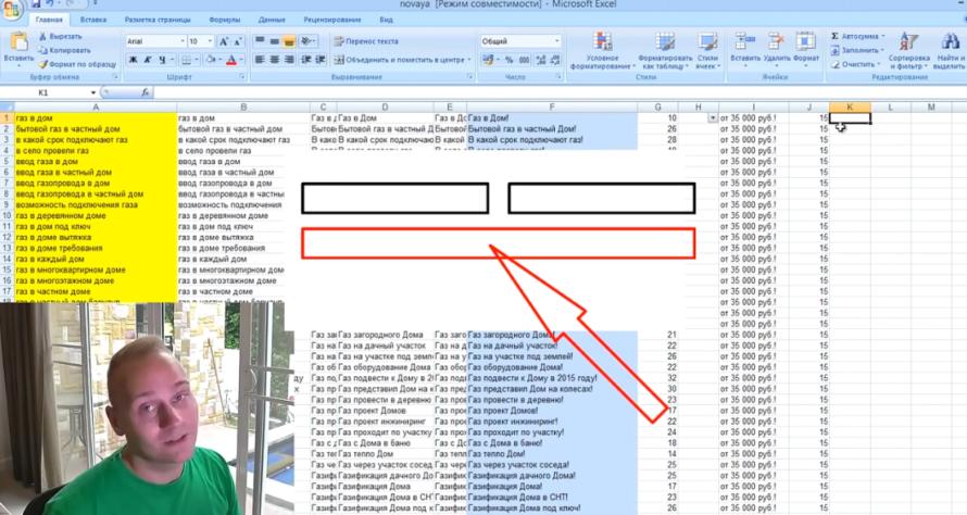 Excel (или .xls) в Яндекс Директ 2015-2016 - Часть текста объявления, которая не пойдет в заголовок, останется в тексте
