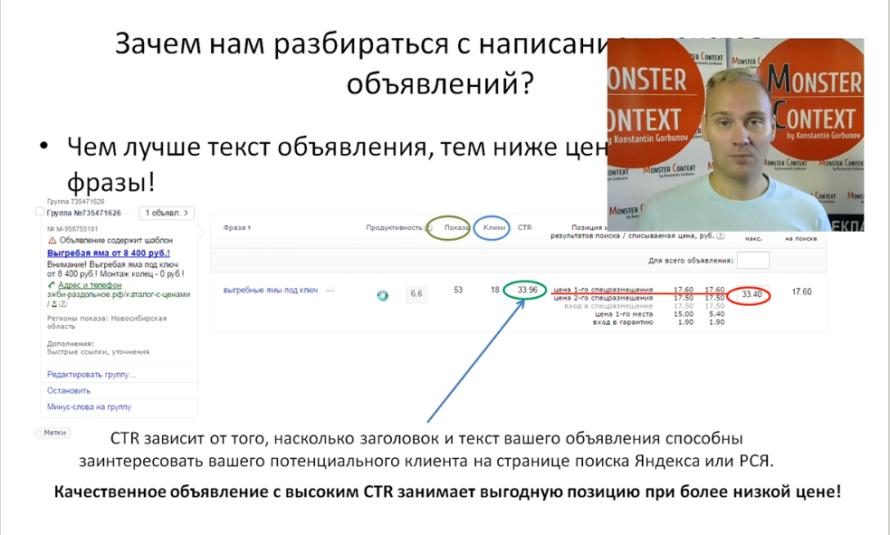 Объявления на поиске Директ 2016- Заголовки, Высокий CTR, 56 символов, быстрые ссылки, уточнения - Зачем необходимо разбираться с написанием объявлений